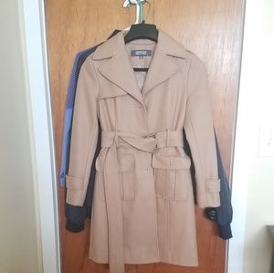 Kenneth Cole wool Jacket Tan